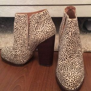 Pony hair Jeffrey Campbell booties